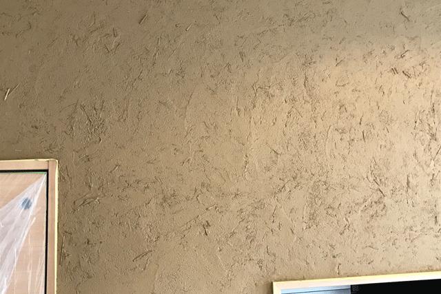 藁スサ土壁